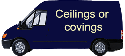 Ceilings or covings