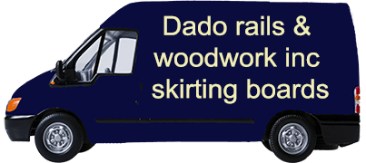 Dado rails & woodwork inc skirting boards