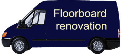 Floorboard renovation
