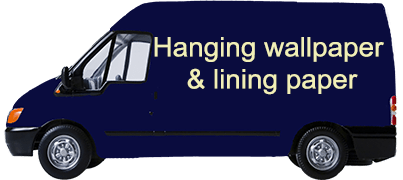 Hanging wallpaper & lining paper