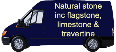 Natural stone inc flagstone, limestone & travertine