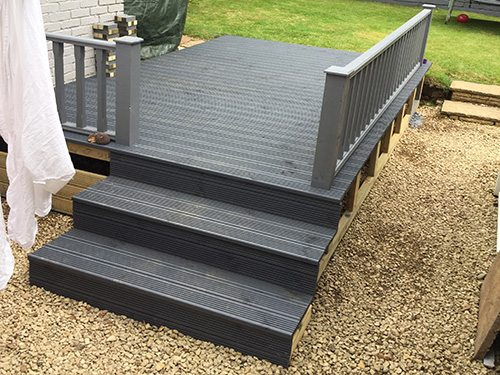 raised decking after