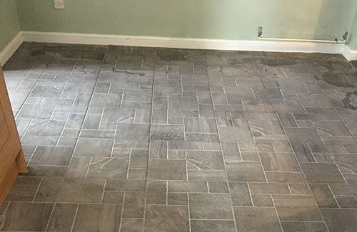 Kitchen-floor-tiling