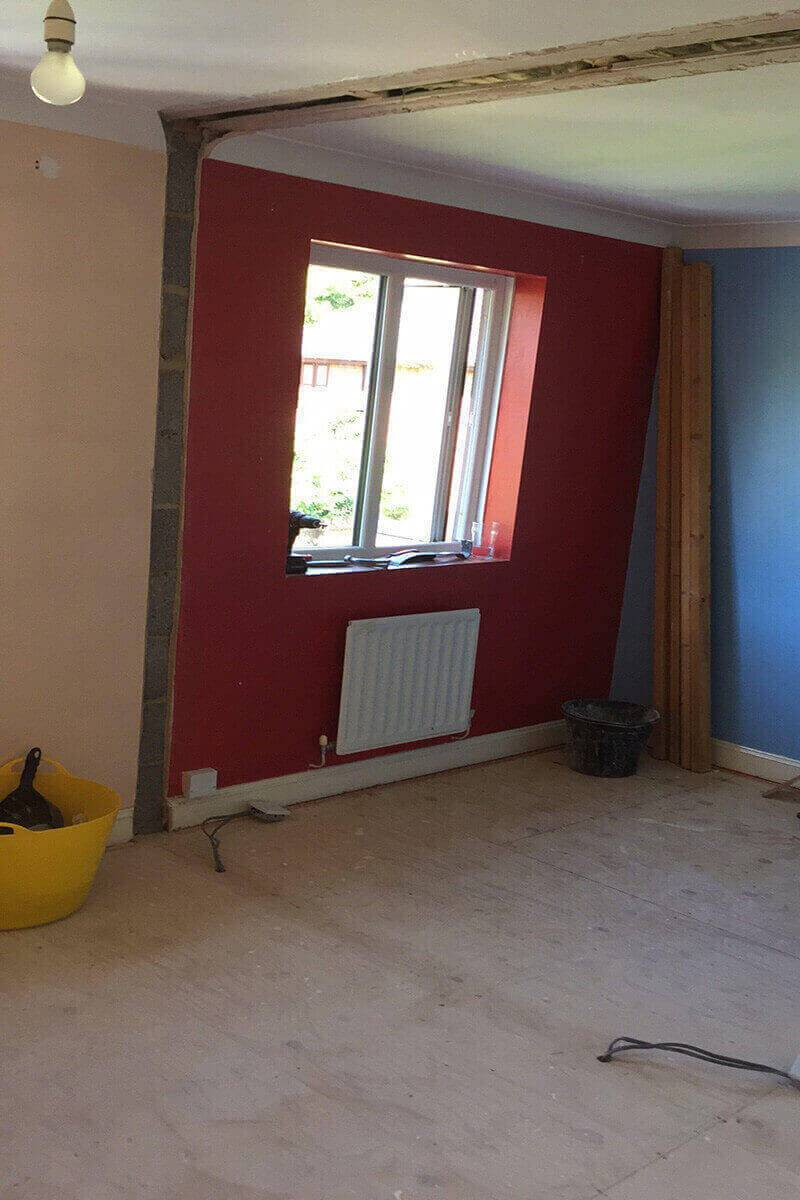Bedroom-2-wall-knock-through-starting-the-refurbishment-knock-through-800x1200-Matt-Simpson-Home-Improvements